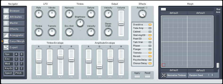 Atmospheric Downtempo Lead Synth With FM8 Tutorial by OhmLab 3