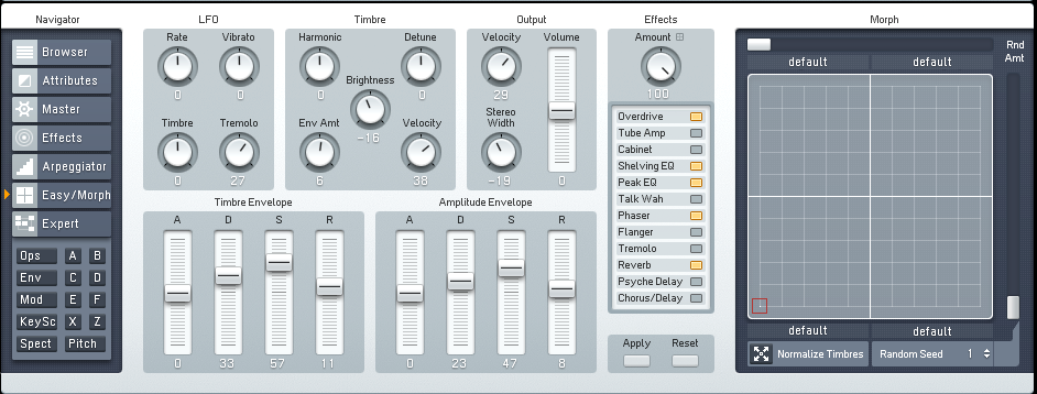 Making a Hard Edge Techno Bass Synth with FM8 by OhmLab 4