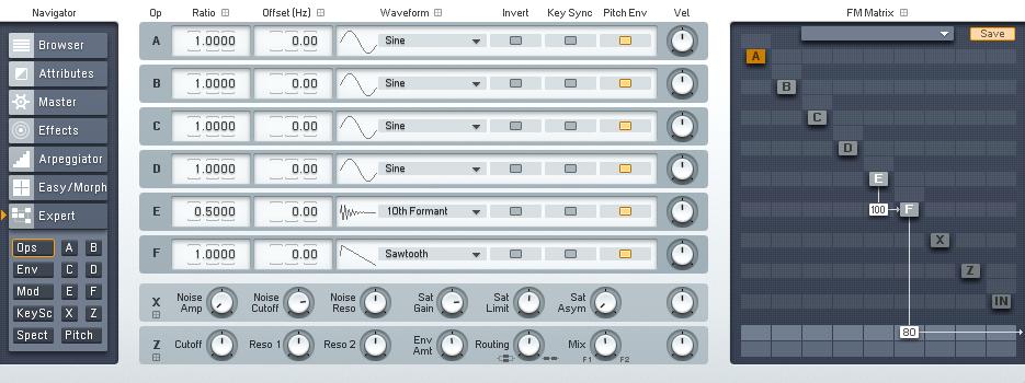 Zedd Style Zipper Bass With FM8 - ADSR
