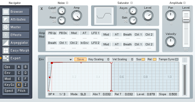 Using White Noise in FM8 For Dance Music - ADSR
