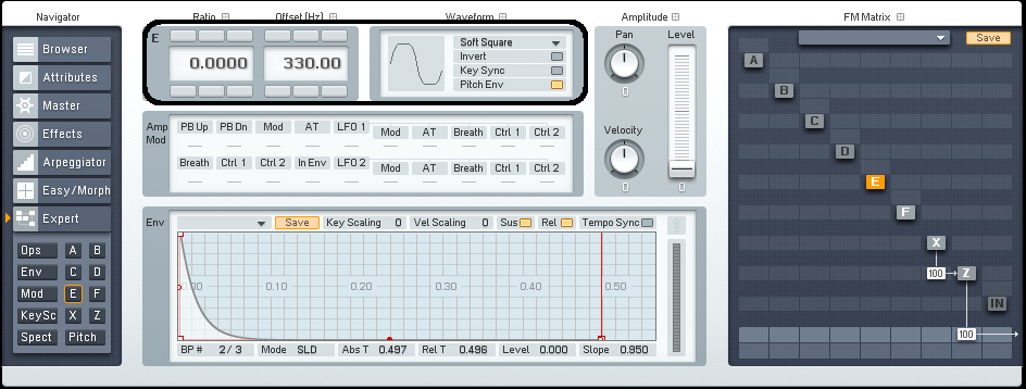 Drum Synthesis With FM8: Creating A Snare Drum Sound - ADSR
