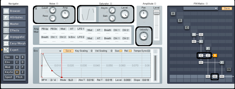 Drum Synthesis with FM8: Creating Hand Drum - ADSR