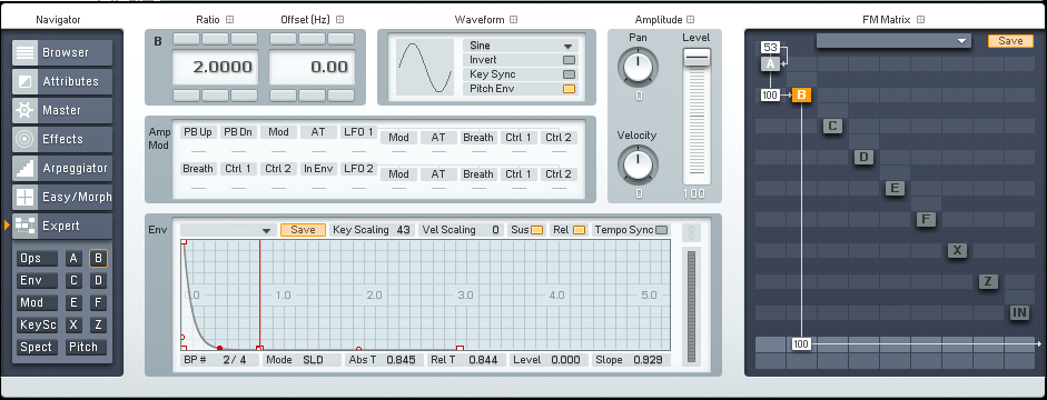 Drum Synthesis with FM8: Fundamentals of drum synthesis - ADSR
