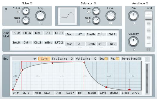Designing a Super Funky Synth Bass From Scratch in NI FM8 - ADSR