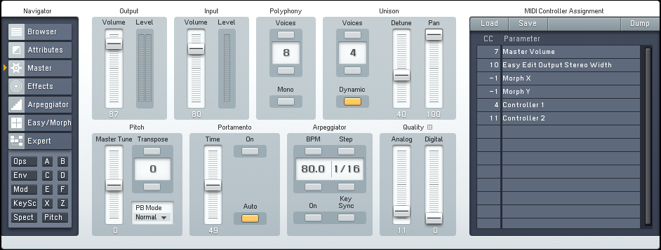 Creating a Hybrid Woodwind Distortion Synth with FM8 - ADSR