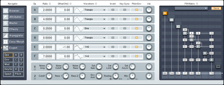 Atmospheric Downtempo Lead Synth With FM8 Tutorial by OhmLab 1