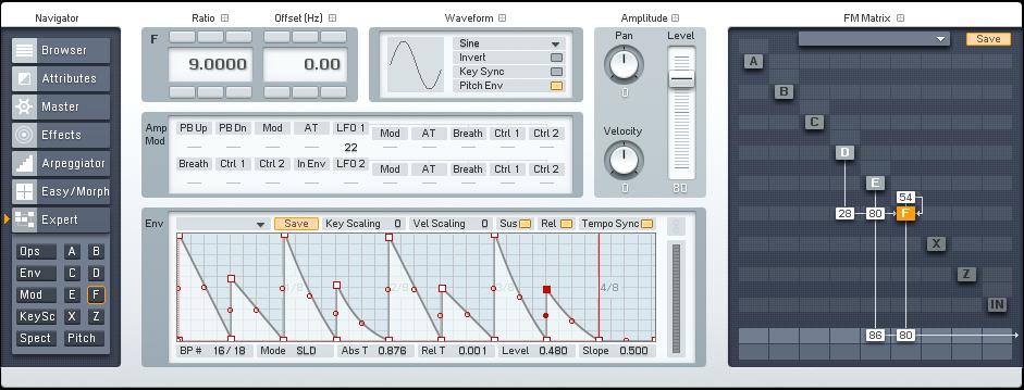 Designing Gated Synths in FM8 Tutorial by OhmLab 1