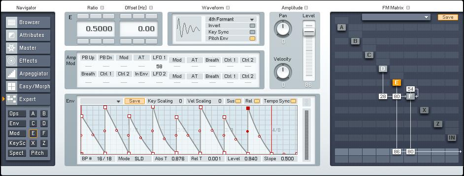 Designing Gated Synths in FM8 Tutorial by OhmLab 2