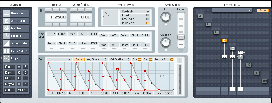 Designing Gated Synths in FM8 Tutorial by OhmLab 3