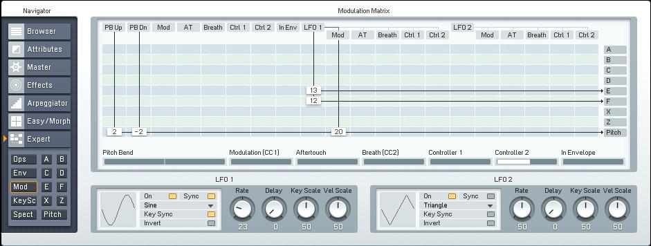 Designing an FM8 Bass Clarinet Synth Tutorial by OhmLab 5