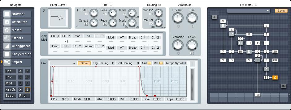Making an FM8 Pipe Organ - ADSR