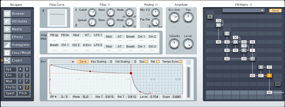 Creating a Driving Cinematic Tech Synth in FM8 Tutorial by OhmLab 2