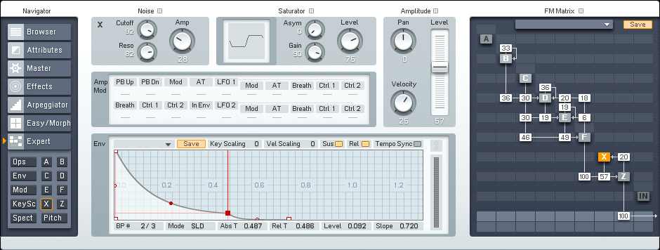 Creating a Driving Cinematic Tech Synth in FM8 Tutorial by OhmLab 3