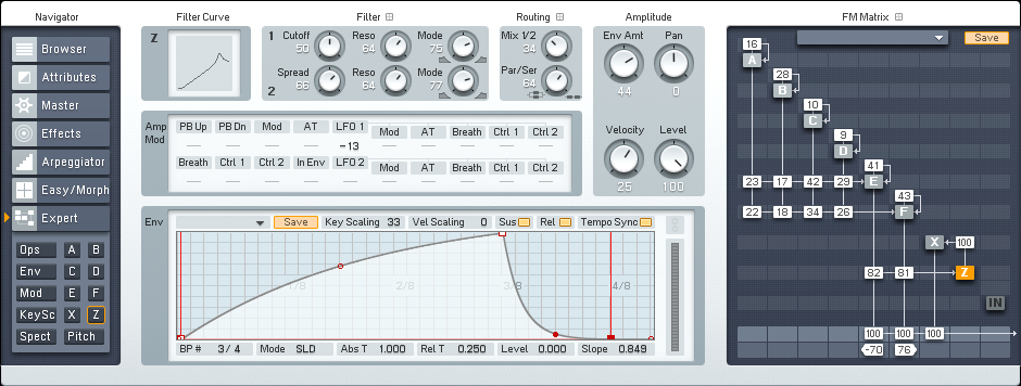 Making More Flexible and Responsive FM8 Electro Bass Synths Tutorial by OhmLab 2