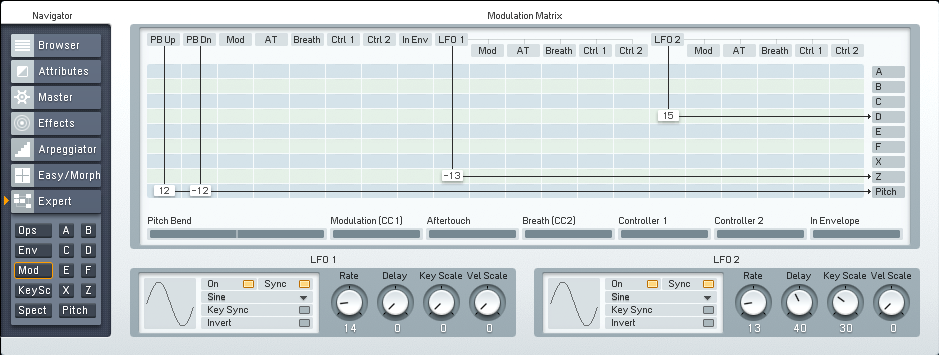 Making More Flexible and Responsive FM8 Electro Bass Synths Tutorial by OhmLab 7