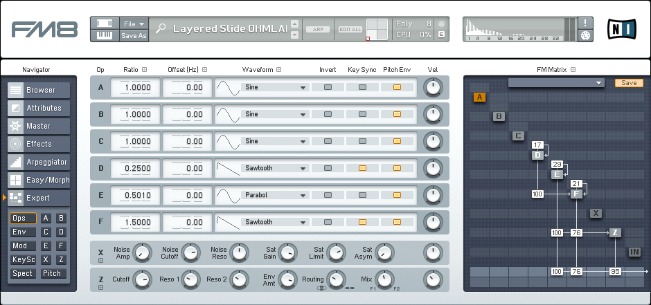 Tips for Working With Dynamically Layered FM8 Synths Tutorial by OhmLab 1