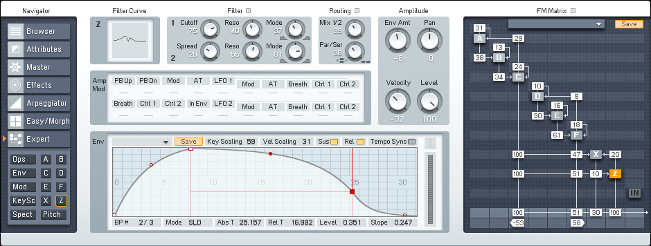 Designing a More Interesting Dissonant FM8 Pad Tutorial by OhmLab 3